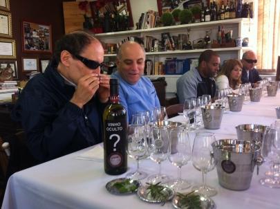 Avaliação do Vinho Oculto para o Selo 7 S